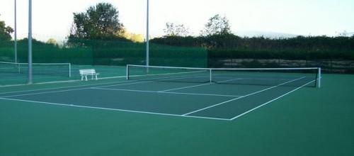 Pistas tenis descubiertas